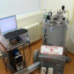 Mossbauer Spectrometer with magnetic field, ultralow temperature cryostat (Engelmann Scientific)