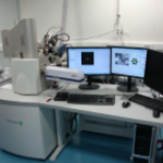 Scanning Electron Microscope Lyra 3XMU with Focused Ion Beam SEM-FIB sample preparation system (Tescan) with EBSD and EDS analysis systems (Bruker)